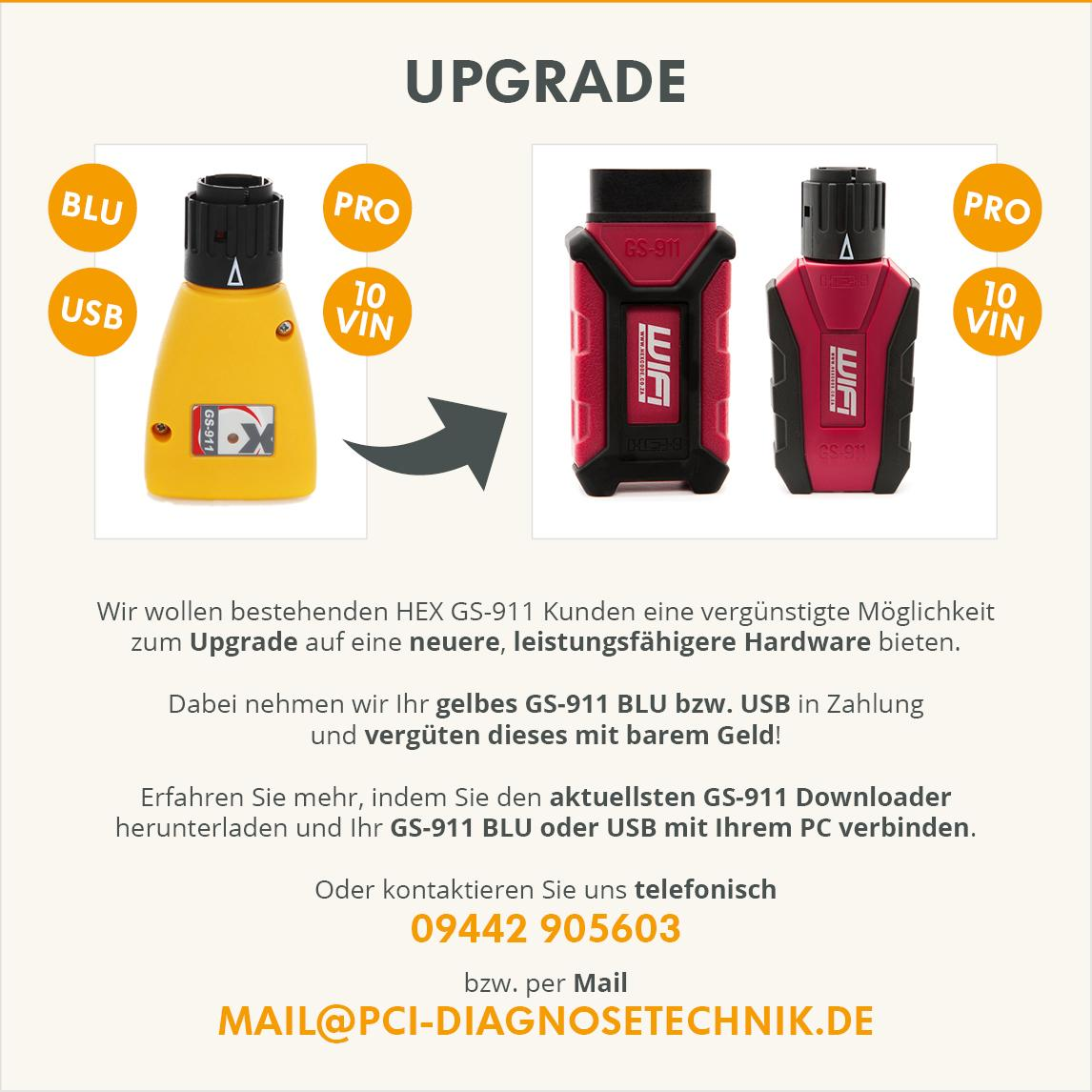 gs-911 Upgrade