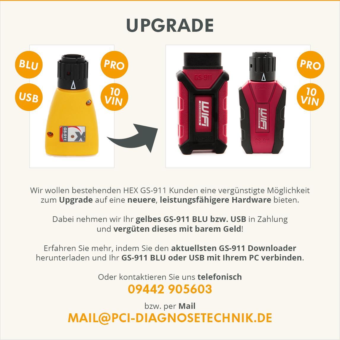 gs-911 Upgrade