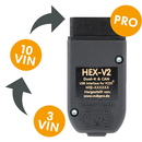 VIN Upgrade zu HEX-V2® Professional